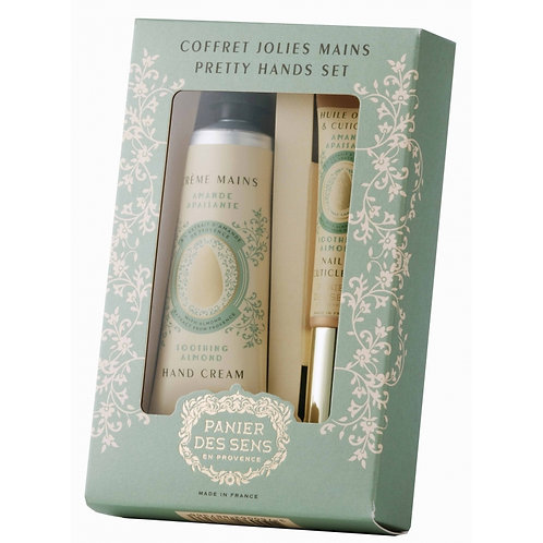 Coffret Mains - Amande