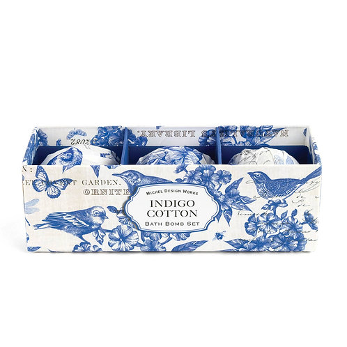 Boules de bain - Indigo Cotton