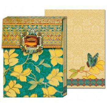 Carnet de note - Bijoux jaune