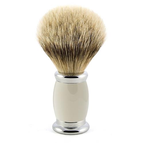 Blaireau Bulbe - Synthetic fibre Grey