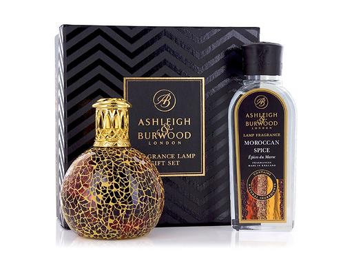 Coffret Lampe parfum - Golden Sunset