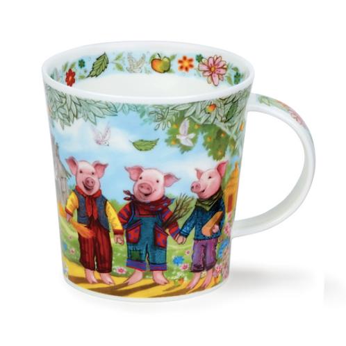 Mug Dunoon Conte - Les 3 petits cochons