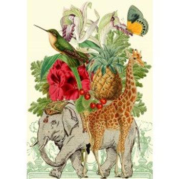 Carte - Whimsical (animals)