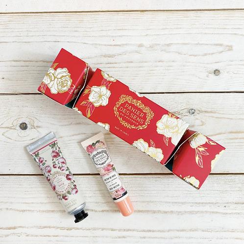 Cracker de Noël - Rose