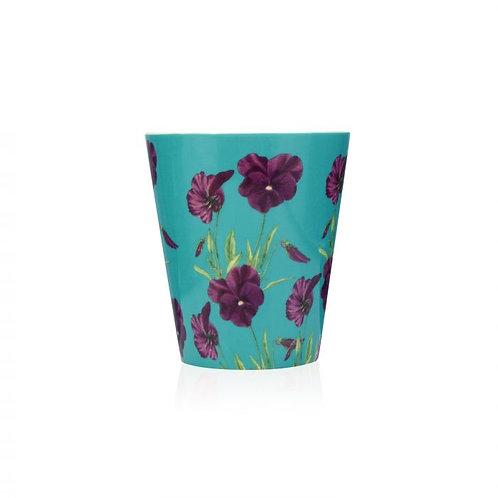Bougie céramique - Violette