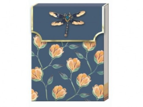 Carnet de notes avec broche - Florette Vine
