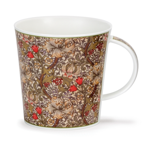 Mug Dunoon - William Morris Golden Lily