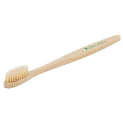 Brosse à dents adulte - bambou naturel