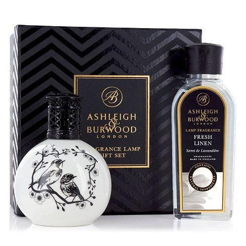 Coffret Lampe Parfum - Fresh Linen