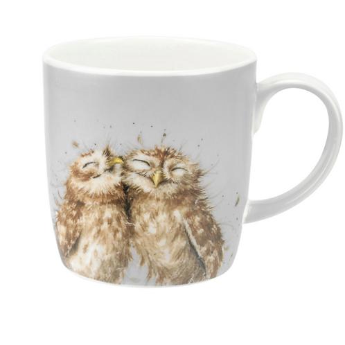 Mug chouettes - gris