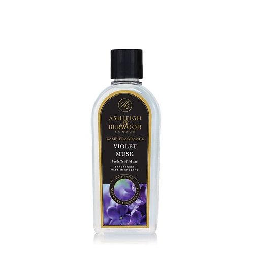 Recharge Lampe Parfum - Violet Musc     500ml