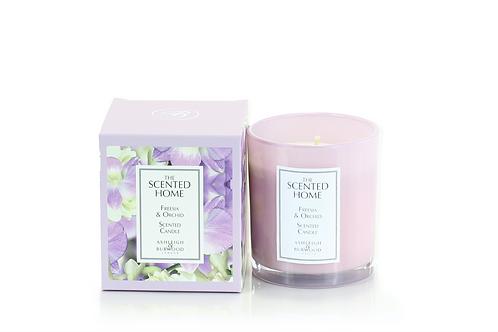 Bougie parfumée - Freesia & Orchidée