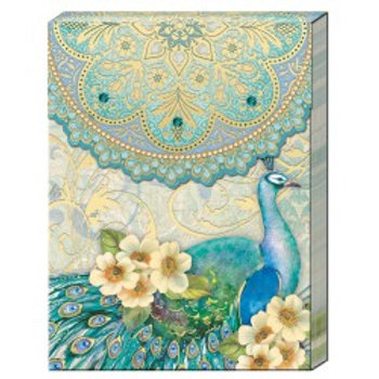 Carnet de note - Teal Peacock