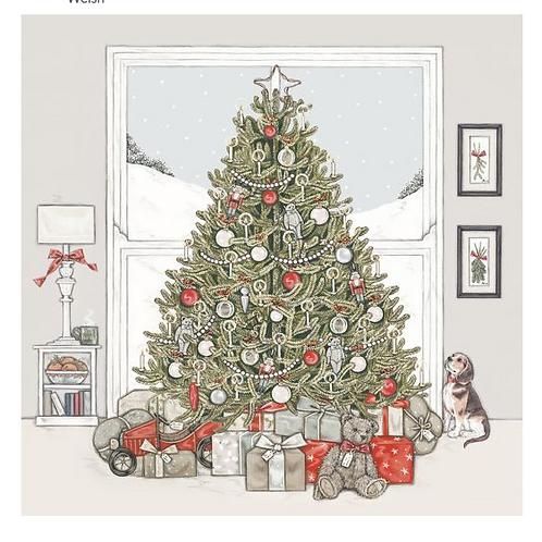 Set cartes de Noël - Sapin