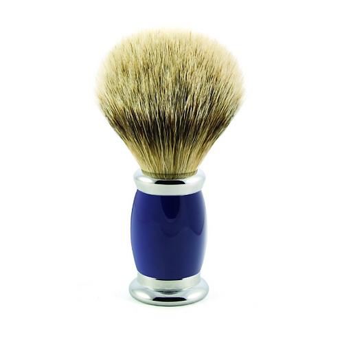 Blaireau Luxe Bulbe - Silver Tip Badger Blue