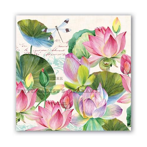 Serviettes - Water Lilies