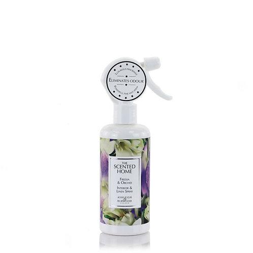 Parfum d'ambiance et de linge - Freesia & Orchidée