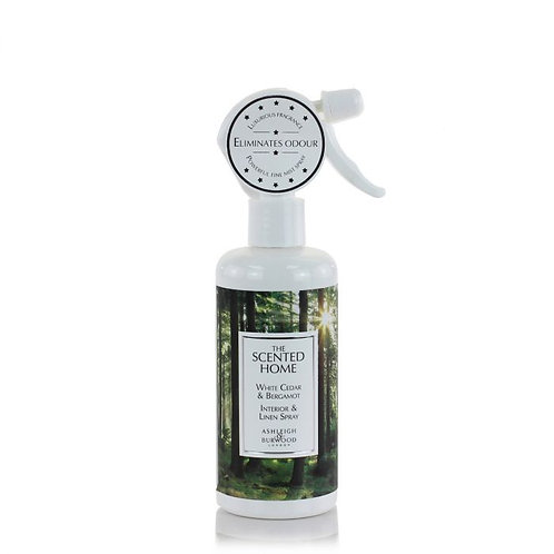 Parfum d'ambiance et de linge - Cèdre blanc & Bergamote