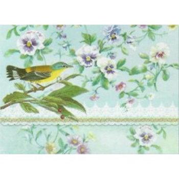 Pochettes de correspondance - Pansies & Warbler
