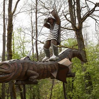 Wooden Sculpture park