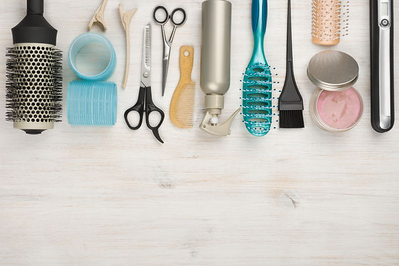 Professional hairdressing tools and acce