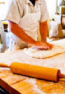 City Bakery Baker Making Artisan Bread