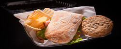 Sandwich catering lunch box