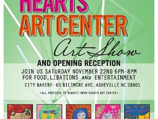 Open Hearts Art Center & Reception