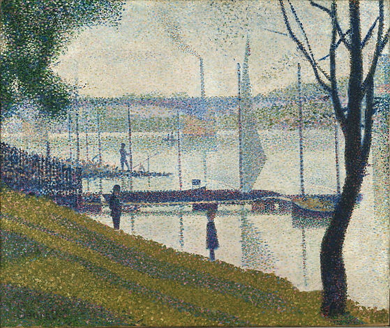 Bridge at Courbevoie - Georges Seurat.jp