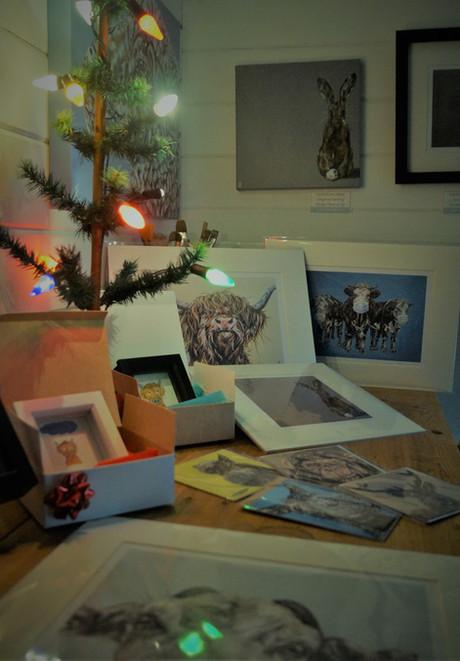Christmas in the studio