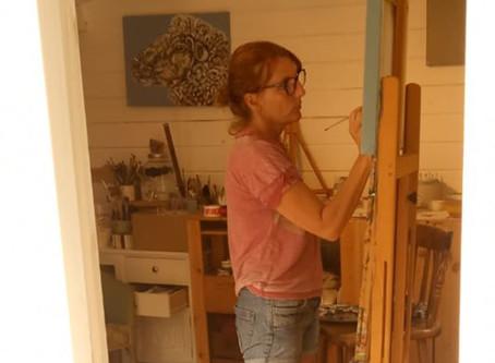 Blog: A glimpse through the studio window ...