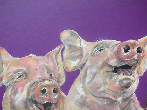 Piggles (Piglets with giggles)