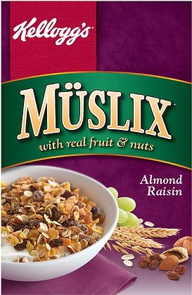 Kellogg's Müslix Almond Raisin Cereal - 450g