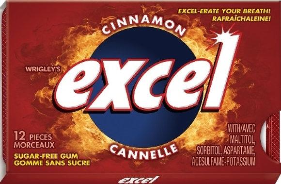 Excel Sugar-Free Gum, Cinnamon - 12x12 - .62lb(281)