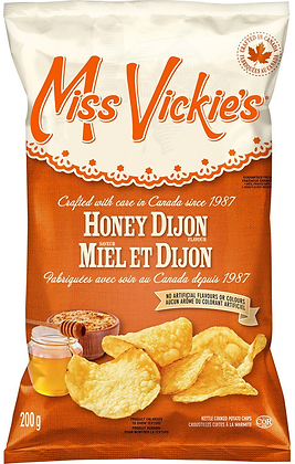 Miss Vickie's Honey Dijon Potato Chips - 200g