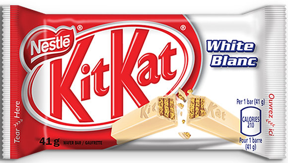 Nestle Kit Kat White Chocolate Bars 4 Pack