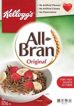 Kellogg's All-Bran Original Cereal - 525g