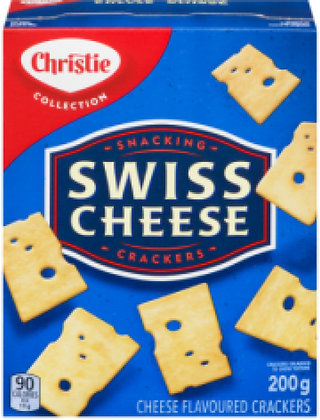Christie Swiss Cheese Crackers - 200g