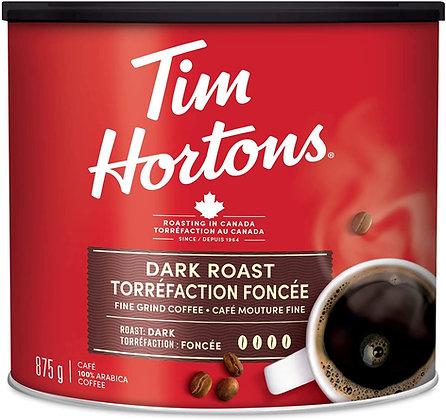 Tim Hortons Dark Roast Fine Grind - 875g