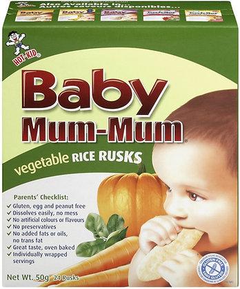 Baby Mum-Mum Vegetable Rice Rusks - 50g