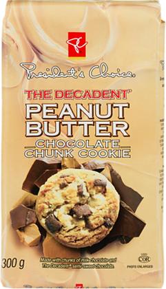 PC Decadent Cookies Peanut Butter Chunk - 300g