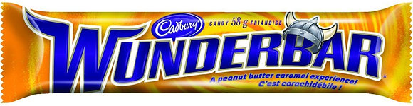 Cadbury Wunderbar Chocolate Bars 24/Case