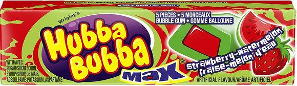 Hubba Bubba Max, Strawberry-Watermelon - 5x18 - 1.75lb(794g)