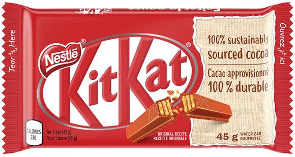 Nestle Kit Kat Chocolate Bars 4 Pack