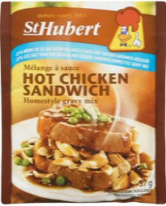 St. Hubert Hot Chicken Sandwich - 25% Less salt - 57g