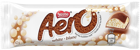 Nestle Aero White & Milk Chocolate Bars 4 Pack