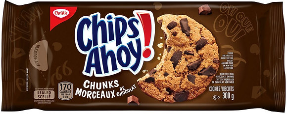 Christie Chips Ahoy! Chunks Chocolate Chip Cookies - 300g