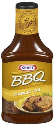 Kraft Garlic BBQ Sauce - 455g