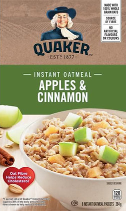 Quaker Apples & Cinnamon Instant Oatmeal - 264g