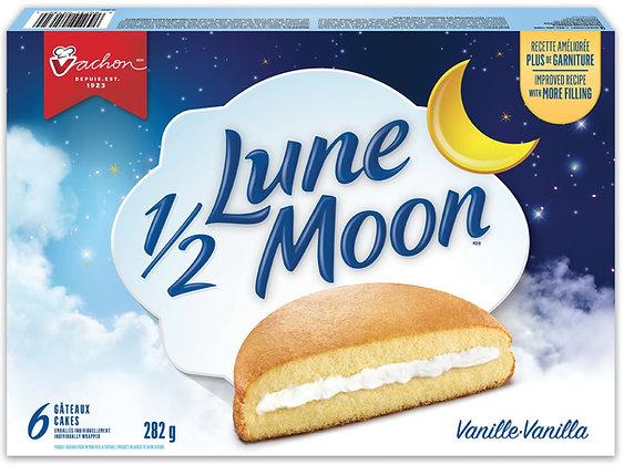 VACHON ½ Moon Fluffy Vanilla Cakes - 282g - 6 Pack
